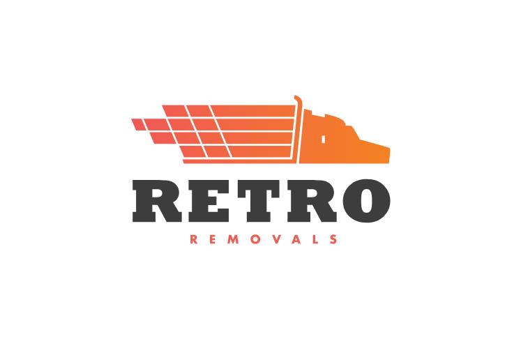 Retro Removals Logo