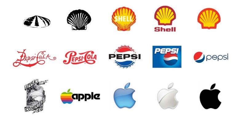 Logo Simplification Examples