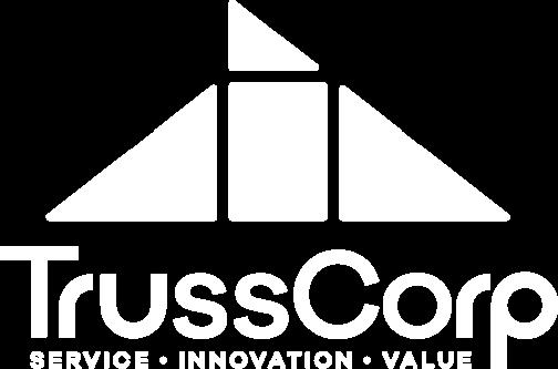 TrussCorp Logo White
