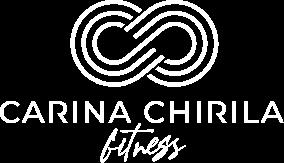 Carina Chirila Fitness Logo White