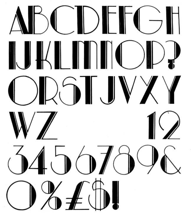 Deco Font