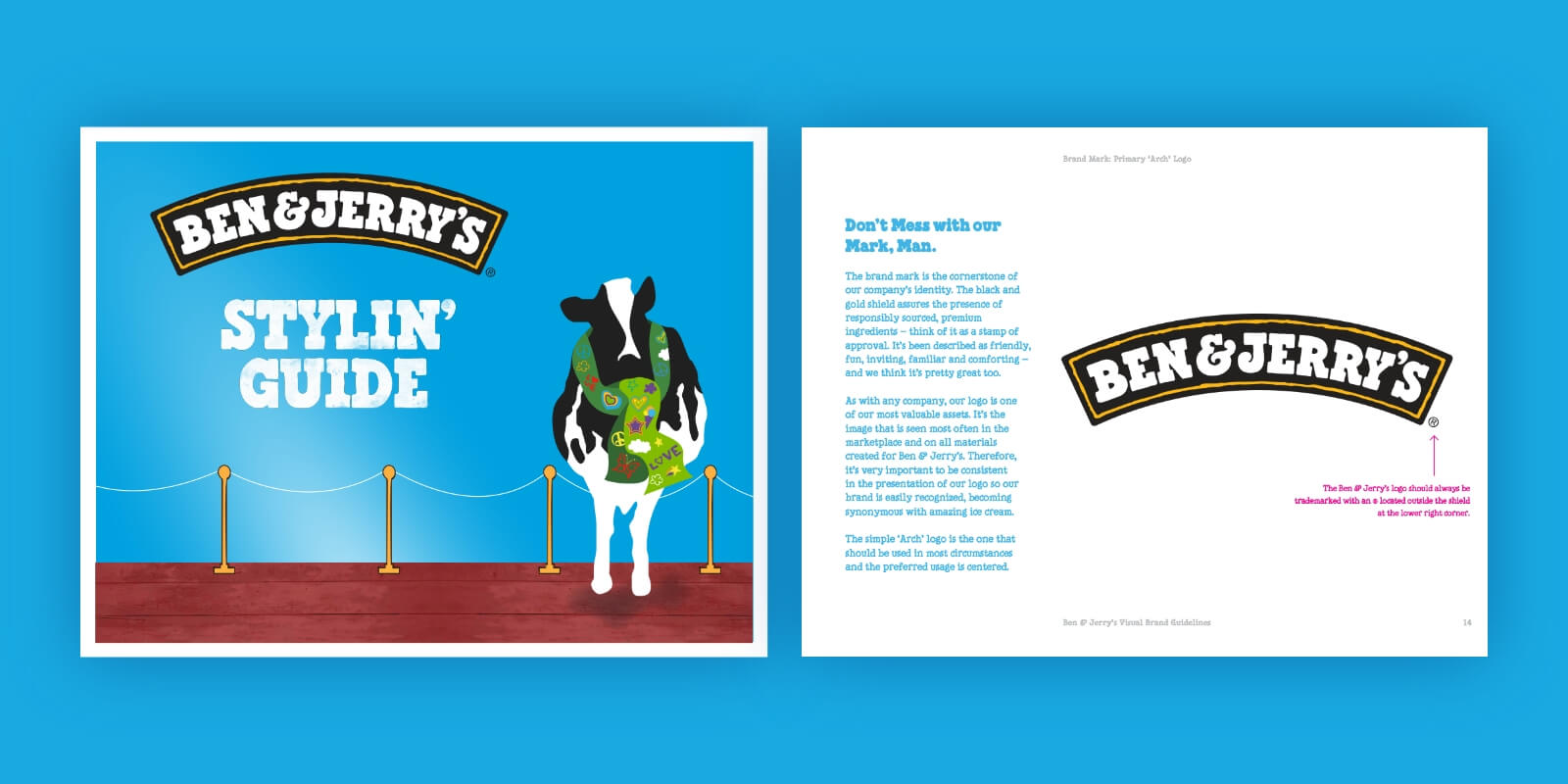 Ben Jerrys Style Guide Example