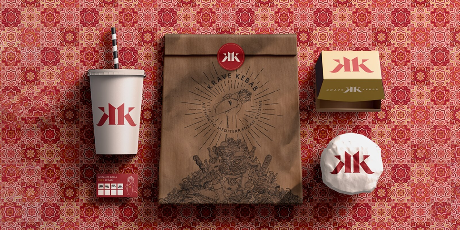 Product Packaging for Turkish Restaurant