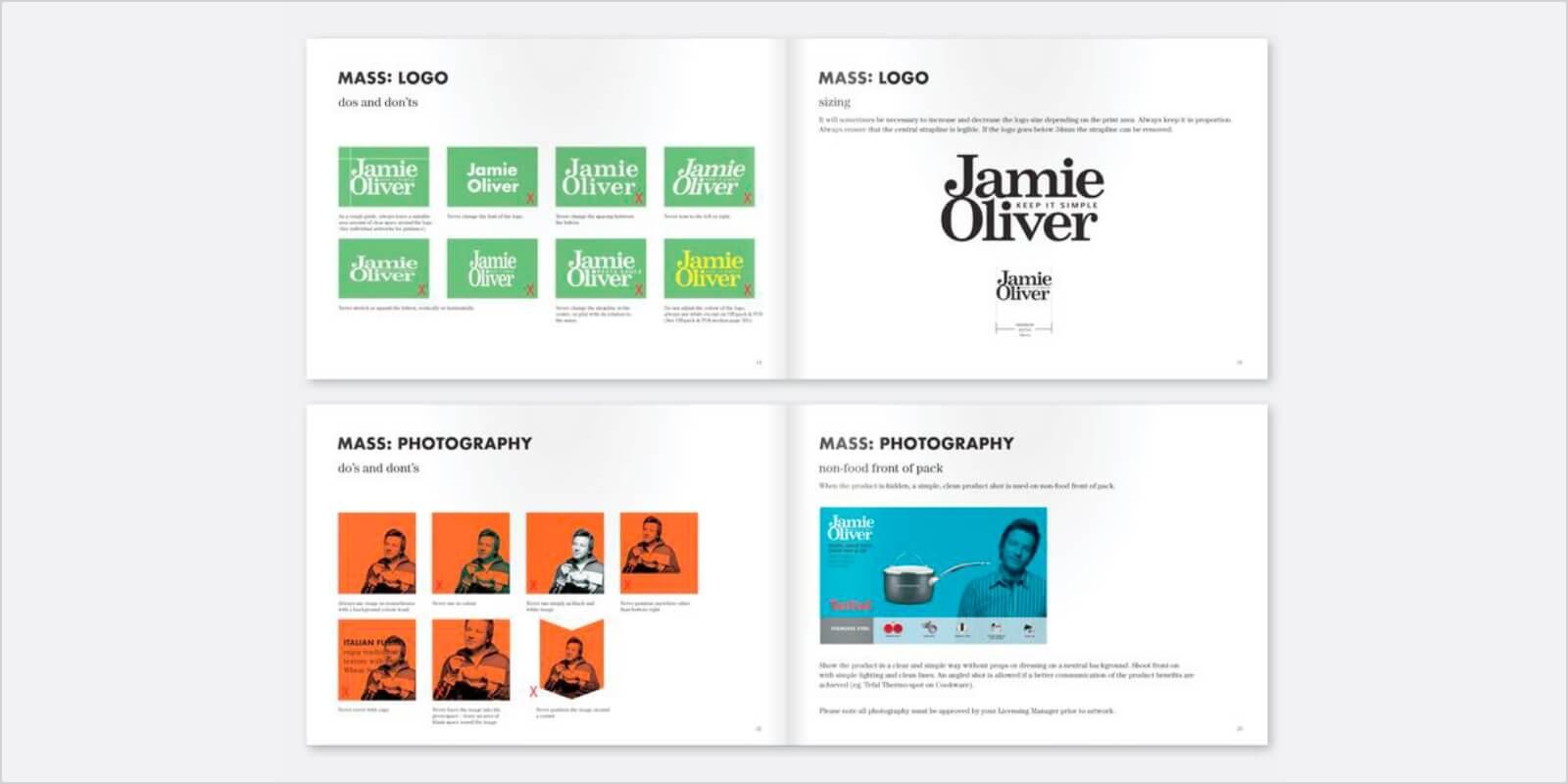 Jamie Oliver Brand Guidelines